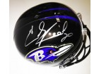 Ed Reed Signed Full Size Baltimore Ravens Helmet