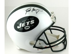 Brett Favre Signed New York Jets Riddell Authentic NFL Helmet