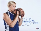 "Jennie Finch Autographed 8x10 Photo Team USA ""04 Gold"" PSA/DNA Stock #64597"