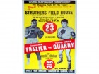 George Foreman Unsigned Original Fight Poster