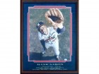 Hank Aaron 755 Autographed Framed 16x20 Photo (JSA)