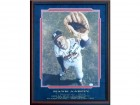 Hank Aaron HOF 82 Autographed Framed 16x20 Photo (JSA)