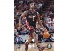 Dwyane Wade Autographed Dribbling Rookie 8x10 Photo