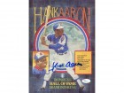 Hank Aaron Autographed 8x11 Donruss Diamond Kings Puzzle (JSA)