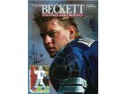 Barry Switzer, Jerry Jones, Troy Aikman, Thomas Henderson Autographed 1995 Beckett Cover Magazine