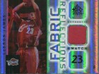 LeBron James 2005 Upper Deck Fabric Reflections Game Used Jersey Card