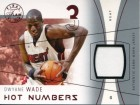 Dwyane Wade 2003 Fleer Final Edition Game Used Jersey Rookie Card