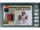 Cam Newton Autographed 2011 Upper Deck SP Authentic Jersey Rookie Card (BVG)