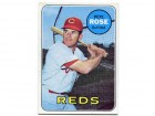 Pete Rose Unsigned 1969 Topps Card
