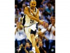Tony Parker Finals MVP Autographed / Signed Celebration 16x20 Photo