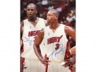 Dwyane Wade & Shaquille O'Neal Autographed Staring 16x20 Photo