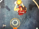 Dwyane Wade Flash Autographed / Signed Overhead Dunk 16x20 Photo