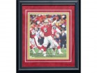 Steve Young Autographed Framed 8x10 Photo
