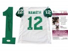 Joe Namath Autographed New York Jets Jersey