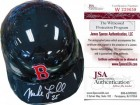 Mike Lowell Autographed Boston Red Sox Mini Helmet