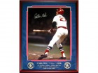 Carlton Fisk Go Fair Go Fair and Pat Darcy Go Foul Go Foul Autographed Framed 1975 Home Run 16x20 Photo