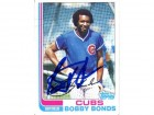 Bobby Bonds Autographed 1982 Topps Card