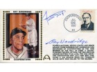 Willie Mays & Ray Dandridge Autographed 1st Day Cover