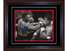 Mike Tyson Autographed Vs Rocky 8x10 Photo (JSA)