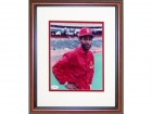 Ozzie Smith Autographed Framed 8x10 Photo
