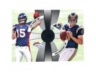 Tim Tebow and Sam Bradford Unsigned 2010 Topps Card