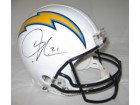 LaDainian Tomlinson Autographed San Diego Chargers Pro Line Helmet by Riddell