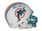 Ricky Williams Autographed Dolphins Replica Mini Helmet by Riddell
