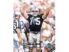Howie Long Autographed Oakland Raiders 8x10 Photo #10