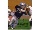 Howie Long Oakland Raiders 11x14 #235 Autographed Photo