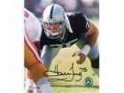 Howie Long Oakland Raiders 8x10 #9 Autographed Photo