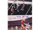 "Dwight Clark & Joe Montana San Francisco 49ers 8x10 #272 Autographed Photo signed ""The Catch 1-10-82"""