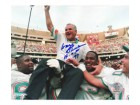 "Don Shula Miami Dolphins 8x10 #302 Autographed Photo signed with ""HOF 97"""