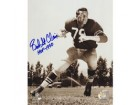 "Bob St Clair Autographed 8x10 Photo San Francisco 49ers #305 with Special Inscription ""HOF 1990"""