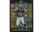 Adrian Peterson Unsigned 2007 Topps Chrome Xfactor Rookie Card