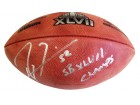 Ray Lewis Signed 47 Super Bowl Football