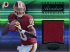 Robert Griffin III Unsigned 2012 Panini Jersey Rookie Card