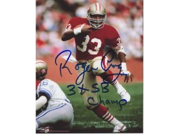 "Roger Craig San Francisco 49ers Autographed 8x10 #324 with ""3xSB Champ"""