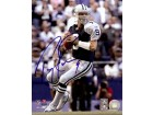 Tony Romo Autographed Dallas Cowboys 8x10 Photo Dropping Back
