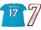 Ryan Tannehill Autographed Miami Dolphins Jersey (JSA)