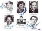 1985 NFL HOFers Autographed 8x10 Photo Namath Staubach PSA/DNA #S01422