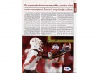 Andre Johnson Autographed Magazine Page Photo Miami PSA/DNA #S40861
