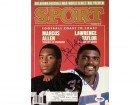 Marcus Allen & Lawrence Taylor Autographed Magazine Cover PSA/DNA #S43187