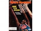David Thompson Autographed Magazine Cover Nuggets PSA/DNA #S43778