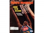 David Thompson Autographed Magazine Cover Nuggets PSA/DNA #S43779