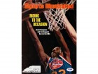 David Thompson Autographed Magazine Cover Nuggets PSA/DNA #S43782