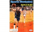 Rick Barry Autographed Magazine Cover Warriors PSA/DNA #S64921