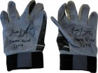 Todd Frazier Autographed 2014 Diamond Elite Black on Grey Game Used Batting Gloves
