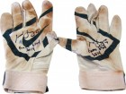 Todd Frazier Autographed 2014 Nike MVP Blue on White Game Used Batting Gloves