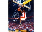 Dwyane Wade 2 Hand Dunk Autographed 16x20 Photo