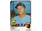 Carlton Fisk Unsigned 1973 Topps Card